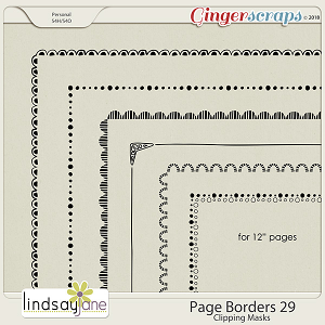 Page Borders 29 by Lindsay Jane