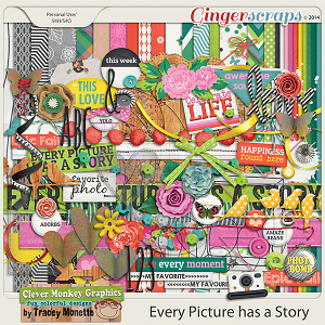 Every Picture Has a Story by Clever Monkey Graphics
