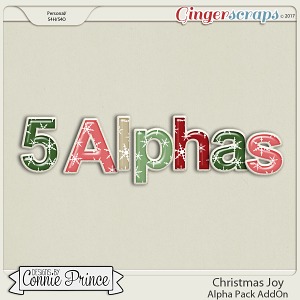 Christmas Joy- Alpha Pack AddOn