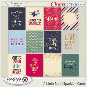 A Little Bit Of Sparkle - Cards
