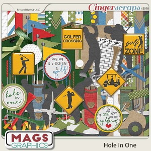 Hole In One Golf KIT by MagsGraphics