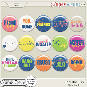 Find The Fish - Flair Pack