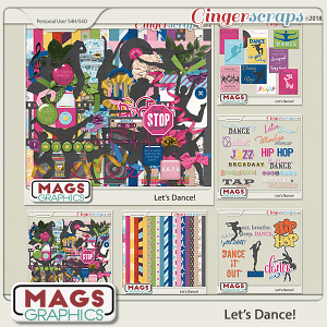 Let's Dance BUNDLE by MagsGraphics