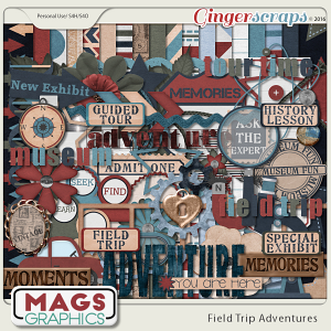 Field Trip Adventures KIT by MagsGraphics