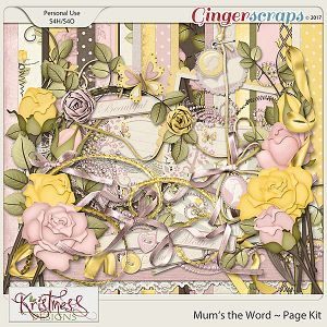 Mum's the Word Page Kit