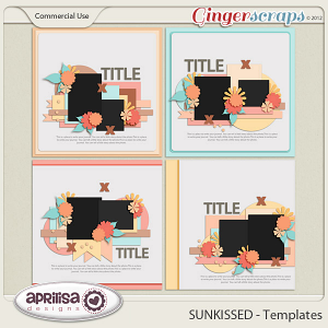 SUNKISSED Templates by Aprilisa Designs