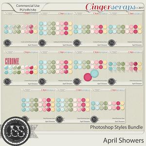 April Showers CU Photoshop Styles Bundle
