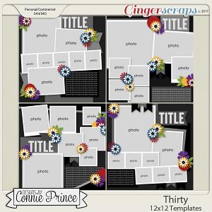 Thirty - 12x12 Temps (CU Ok) by Connie Prince