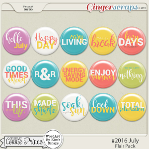 #2016 July - Flair Pack