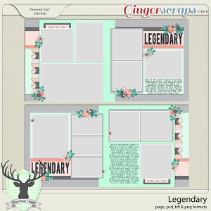 Legendary Templates by Dear Friends Designs