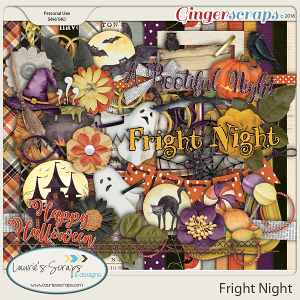 Fright Night - Page Kit
