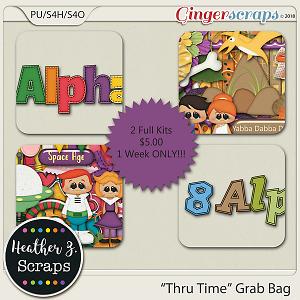 Thru Time GRAB BAG by Heather Z Scraps
