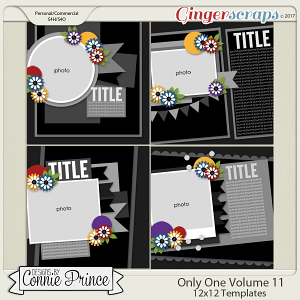 Only One Volume 11- 12x12 Temps (CU Ok)