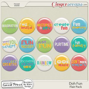 Doh Fun - Flair Pack