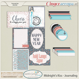 Midnight's Kiss Journalling Pack
