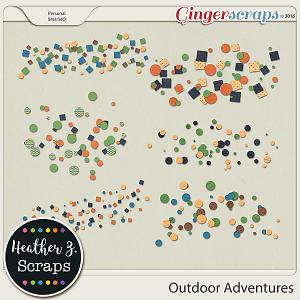 Outdoor Adventures SCATTERS by Heather Z Scraps