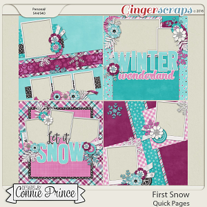First Snow - Quick Pages