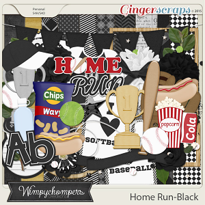 Home Run- Black