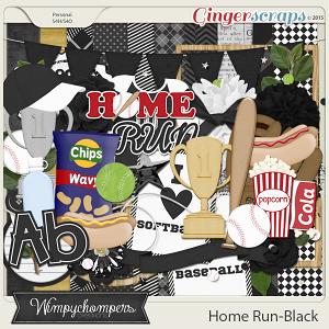 Home Run- Black