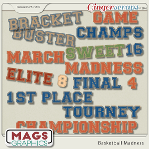 Basketball Madness TITLES