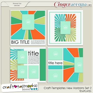 Craft-Templates New Horizons Set 2