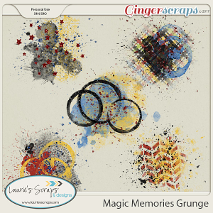 Magic Memories Grunge