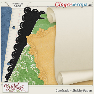 ConGrads Shabby Papers