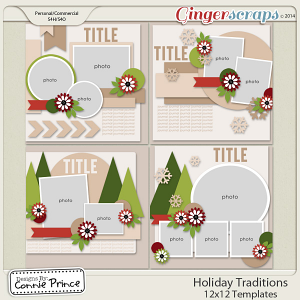 Holiday Traditions - 12x12 Temps (CU Ok)