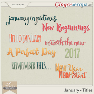 January Titles