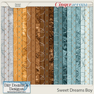 Sweet Dreams Boy {Extra Papers} by Day Dreams 'n Designs