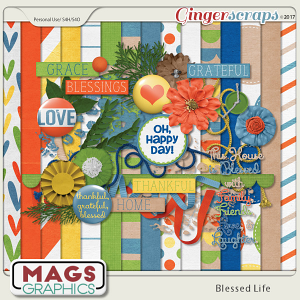 Blessed Life KIT by MagsGraphics