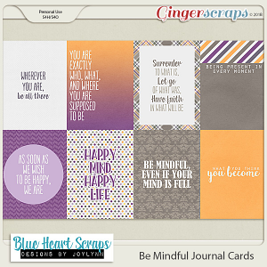 Be Mindful Journal Card Pack