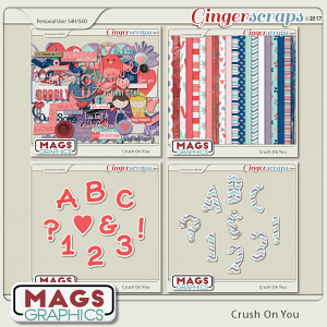Crush On You BUNDLE by MagsGraphics