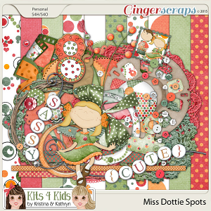Dottie Spots Page Kit