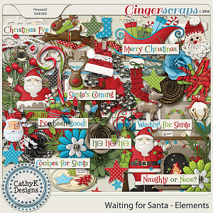 Waiting for Santa - Elements