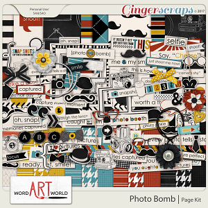 Photo Bomb Page Kit