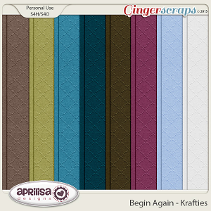 Begin Again - Krafties by Aprilisa Designs