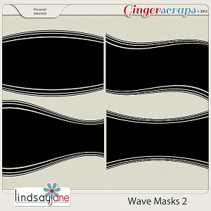 Wave Masks 2 by Lindsay Jane
