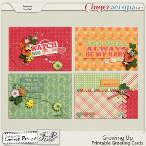 Growing Up - Printable Greeting Cards