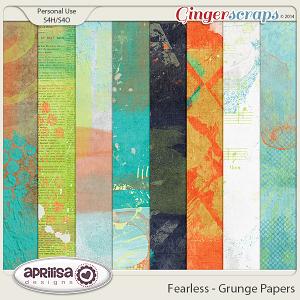 Fearless - Grunge Papers