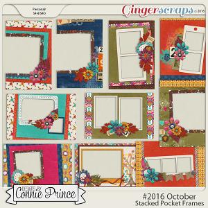 #2016 October - Stacked Pocket Frames