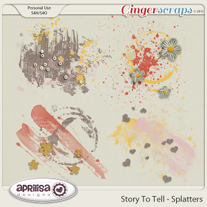 Story To Tell - Splatters