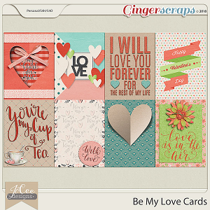 Be My Love Cards by JoCee Designs
