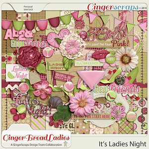 GingerBread Ladies MEGA Collab: It's Ladies Night