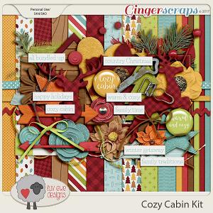 Cozy Cabin Kit by Luv Ewe Designs