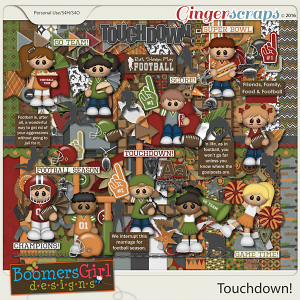 Touchdown! by BoomersGirl Designs