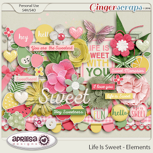 Life Is Sweet - Elements by Aprilisa Designs
