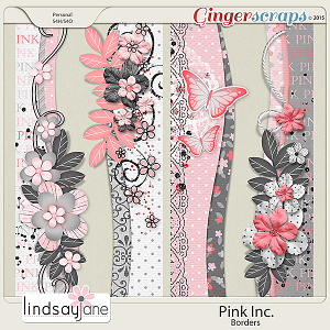 Pink Inc Borders by Lindsay Jane