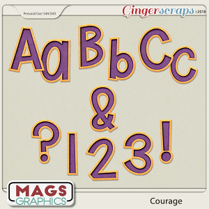 Courage ALPHA by MagsGraphics