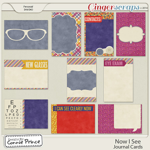 Now I See - Journal Cards